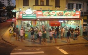 Bares de Santos: Bar Goais em Santos