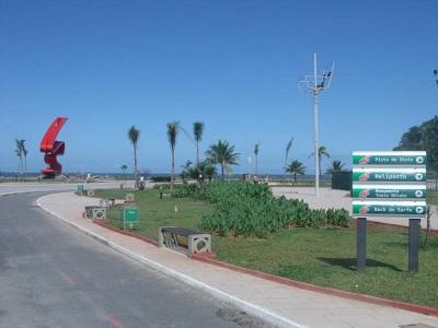 Emissário na Praia José Menino em Santos