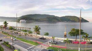 Ponta da Praia em Santos
