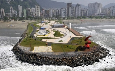Praia José Menino Emissário