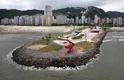 Jose Menino, Santos Beach