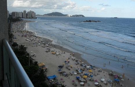 Praia das Pitangueiras Guaruja