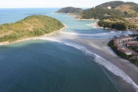 Praia do Pernambuco e do Mar Casado