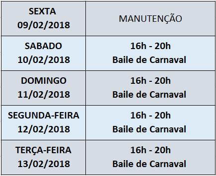 Programação Santos Verão 2018 Carnaval nas Tendas