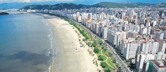 Praia de Santos SP