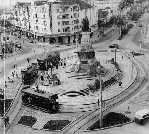 Antiga Praça da Independência no Gonzaga
