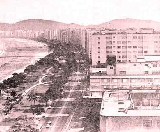 Foto da Histórica Praia do Embaré