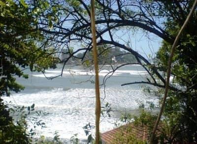 Prainha Porta do Sol em São Vicente