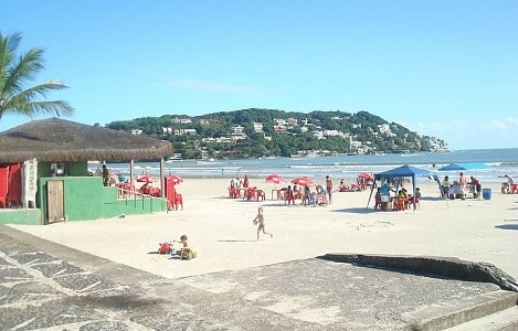 Praia da Enseada no Guarujá SP