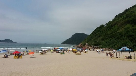 Praia do Guaiúba - Guarujá SP