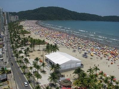 Praia do Boqueirão - Praia Grande