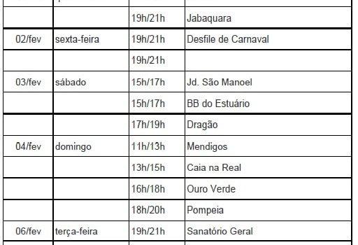 Carnaval em Santos 2018: Programação Carnabanda 2018
