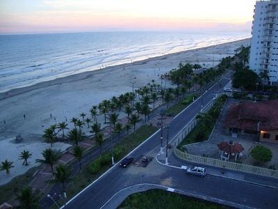 Praia doBalneário Flórida - Praia Grande
