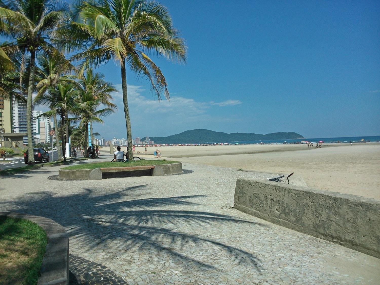 1176d8193 Praias de Praia Grande: fotos, mapa, o que fazer, análise - Top Santos