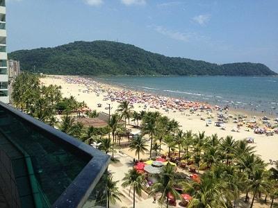 Praia do Canto do Forte - Praia Grande