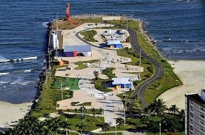 Praias de Santos Jose Menino
