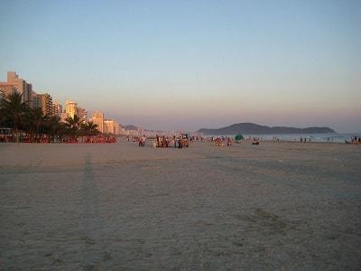 Praia do Tupi (Tupy) Praia Grande